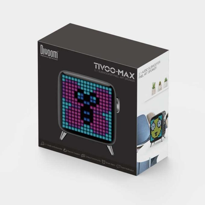 Divoom Tivoo-Max Black